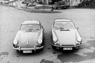 Последната версия на Porsche 356, серия C и първото 911