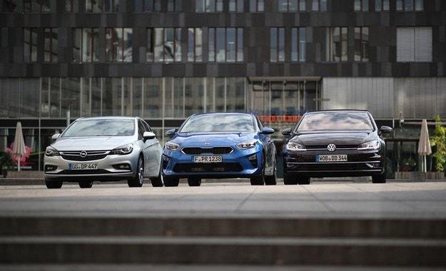 Kia Ceed срещу Opel Astra и VW Golf: Сравнителен тест