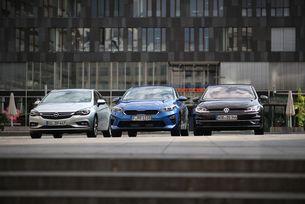 Kia Ceed срещу Opel Astra и VW Golf