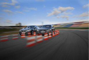 Audi A8 срещу Mercedes S-класа