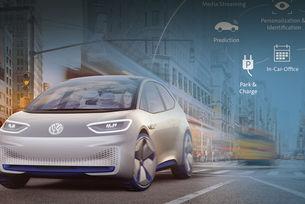 """Повече от пет милиона нови автомобила на Volkswagen ще бъдат свързани с интернет до 2020 г. благодарение на """"облачната"""" технология Volkswagen Automotive Cloud, а Microsoft ще съдейства при създаването й"""