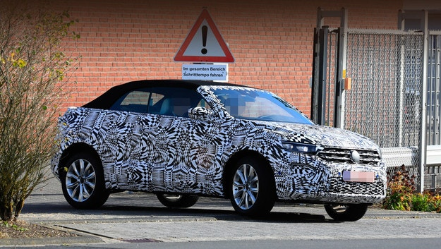 VW T-Roc Cabrio е много близо до концепта