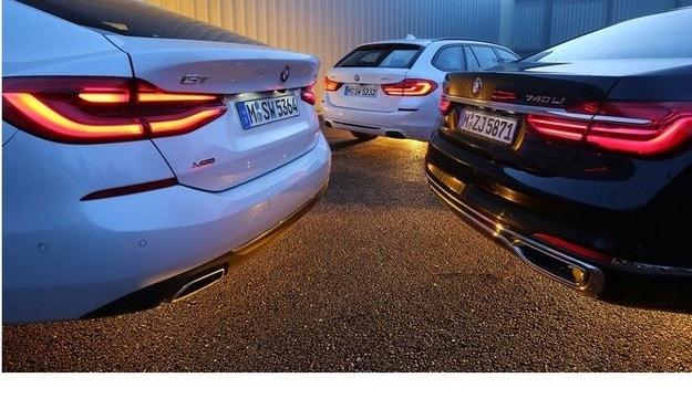 BMW 5 Touring, BMW 6 GT и BMW 7 L: Комби, фастбек и седан