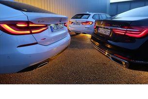 BMW 5 Touring, BMW 6 GT и BMW 7 L: Комби, фастбек и лимузина
