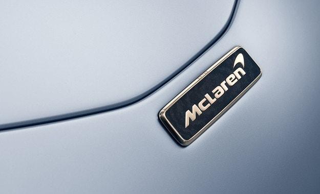 Най-бързият McLaren ще получи златни емблеми