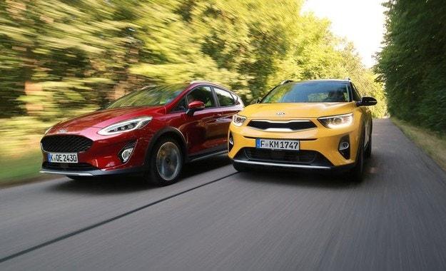Ford Fiesta Active и Kia Stonic: Трицилиндрови турбомалчугани
