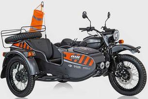 Ural представи мотоциклет с дрон в коша