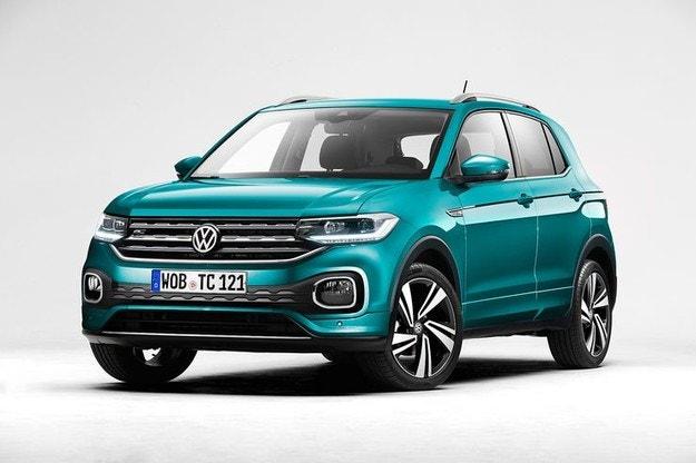 Volkswagen разсекрети новия кросоувър T-Cross