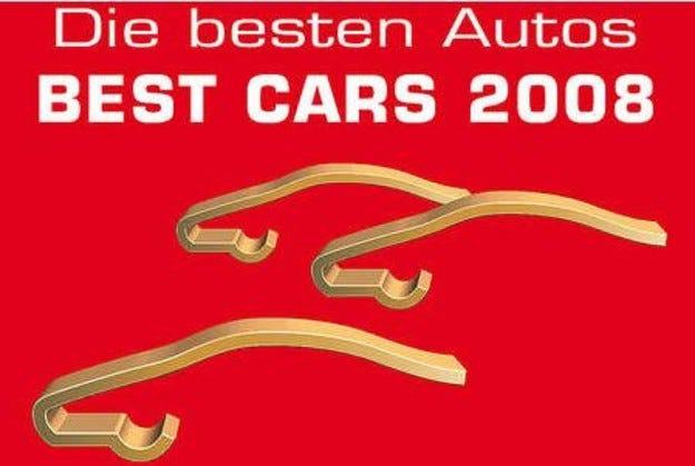 Най-добрите автомобили на 2008 година