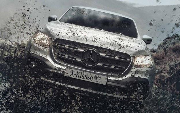 Пикапът на Mercedes получи офроуд версия