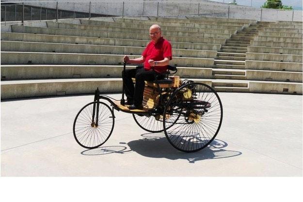 Шофираме Benz Patent-Motorwagen