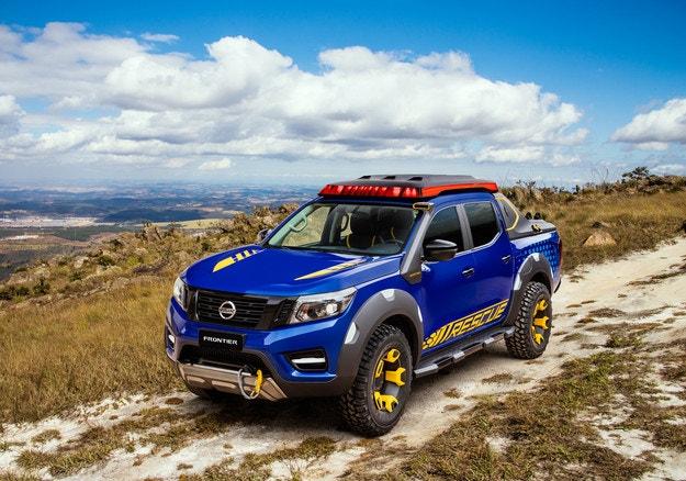 Nissan направи специален Frontier за спасителни служби