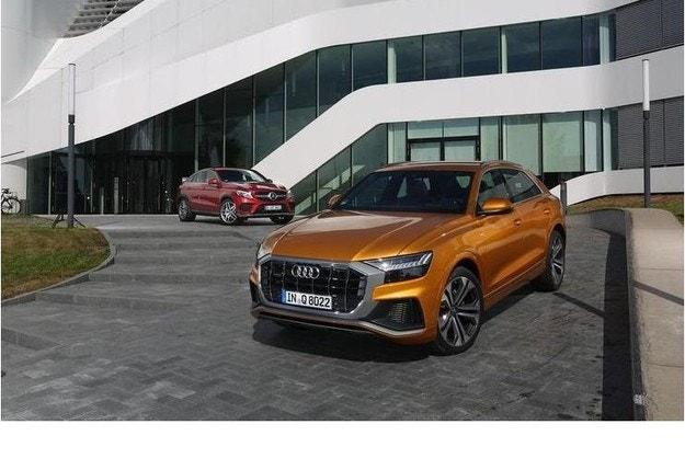 Audi Q8 50 TDI, Mercedes GLE 350d Coupé: Луксозни дизелови SUV