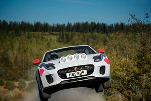 Jaguar подготви кабриолет F-Type за рали