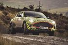 Пътни тестове на кросоувъра ,Aston Martin DBX