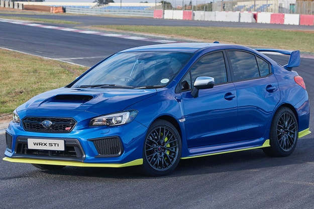 Представят Subaru WRX STI Diamond Edition