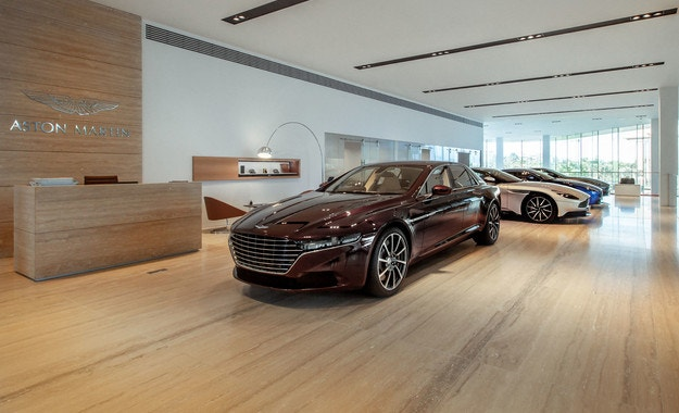 Aston Martin Lagonda откри шоурум в Абу Даби