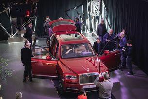 Официален дебют на Rolls-Royce Cullinan в България