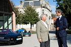 Д-р Волфганг Порше посети централата на Bugatti