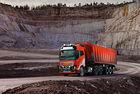 Автономни камиони Volvo превозват варовик в Норвегия