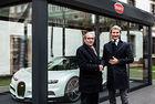 Bugatti Chiron е изложен на коледния пазар в Страсбург