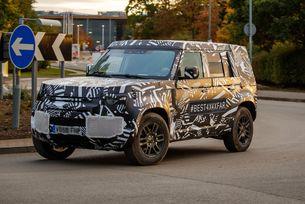 В очакване на следващия Land Rover Defender