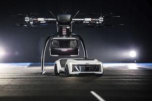 Audi тества автономно летящо такси