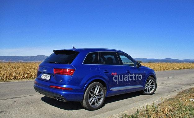 Audi Q7 3.0 TDI: Универсален боец