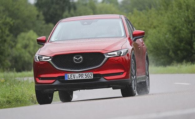 Mazda CX-5: Заточване на острието