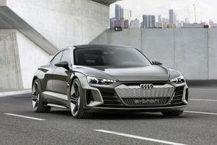 Audi разкри новия електромобил e-tron GT