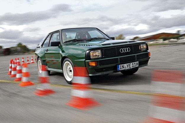 Audi Sport Quattro: Скъсяване на времето