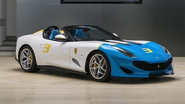 Ferrari представи суперавтомобила SP3JC