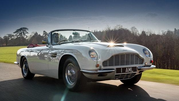 Aston Martin прави електрически класически автомобили