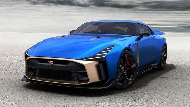 Nissan разкри серийния спортен модел GT-R50