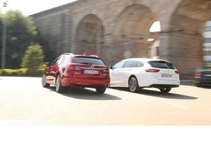 Mazda 6 Kombi и Opel Insignia ST