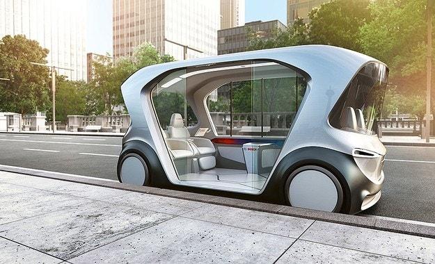 Bosch обяви автономен електрически автомобил