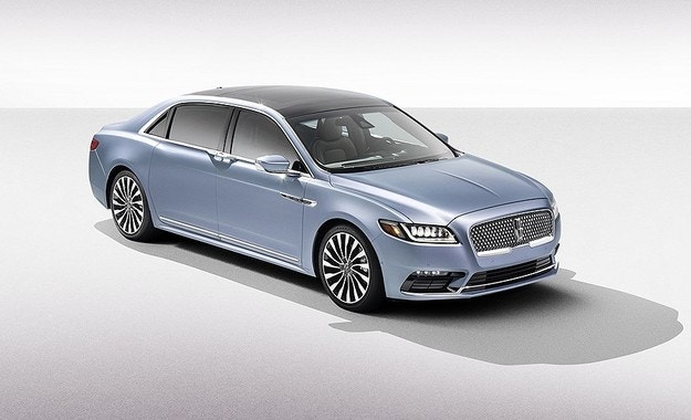 Lincoln представи седана Continental