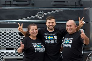 Наши шофьори са герои в кампания на Volvo Trucks