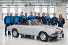 Прототипът  BMW 1600 GT Cabriolet е възстановен