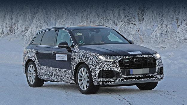 Кросоувърът Audi Q7 ще има много прилики с Q8