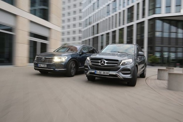 Mercedes GLE vs. VW Touareg