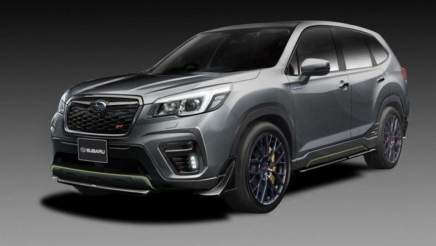 Subaru показа STI-версиите на Forester и Impreza