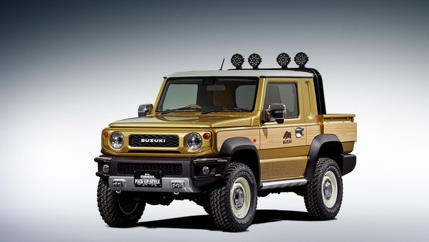 Новият Suzuki Jimny се пробва в ролята на пикап
