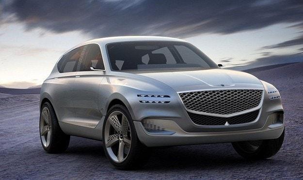 Hyundai ще покаже кросоувър Genesis и нова Sonata