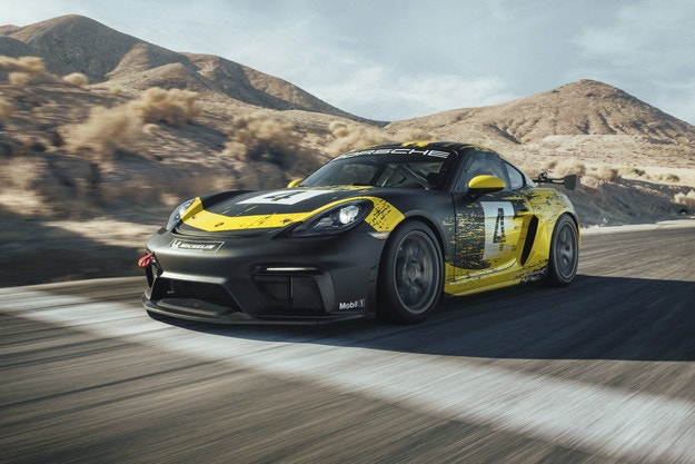 Представят новия Porsche 718 Cayman GT4 Clubsport