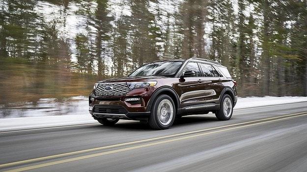 Ford представи новия кросоувър Explorer