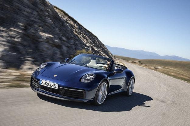 Всичко за новия Porsche 911 Cabriolet