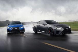 Lexus RC F и Lexus RC F Track Edition