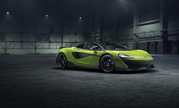 McLaren разсекрети спортния 600LT Spider