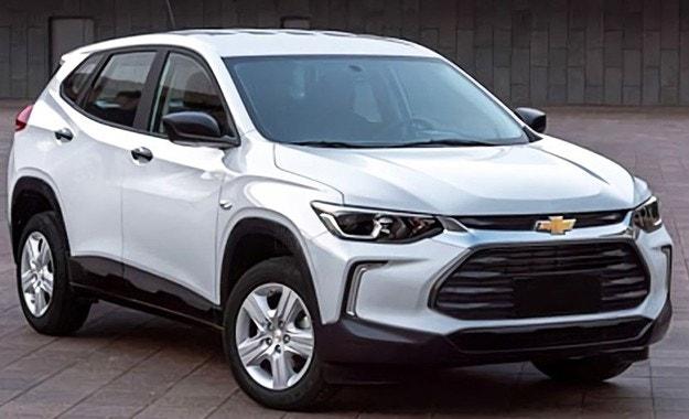 Появиха се първи снимки на кросоувър на Chevrolet